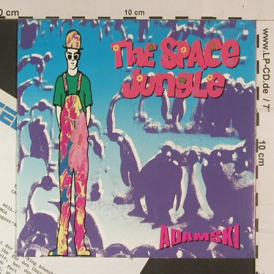 Adamski: The Space Jungle, MCA(9031-72472-7), D, 1990 - 7inch - S8033 - 4,00 Euro