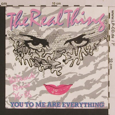Real Thing,The: You To Me Are Everything / Foot Tap, PRT(108 160), D, 1981 - 7inch - S8249 - 2,50 Euro