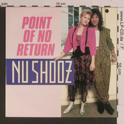 Nu Shooz: Point Of No Return / Goin'Thru The, Atlantic(789 392-7), D, co, 1986 - 7inch - S8250 - 2,50 Euro