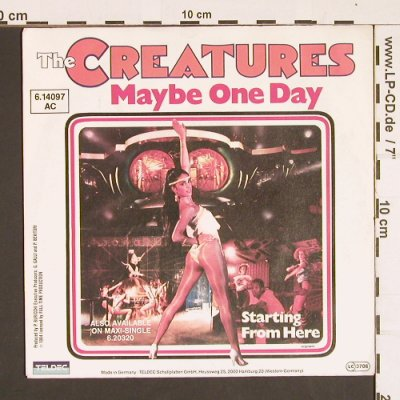 Creatures,The: Right Now, m-/vg+, Teldec Info(6.14097 AC), D, 1984 - 7inch - S8407 - 1,50 Euro