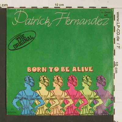 Hernandez,Patrick: Born To Be Alive*2 (disco), Aquarius(6.12444 AC), D, 1979 - 7inch - S8982 - 2,00 Euro