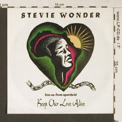 Wonder,Stevie: Keep our Love Alive, Motown(ZB 44013), D, 1990 - 7inch - S9083 - 3,00 Euro