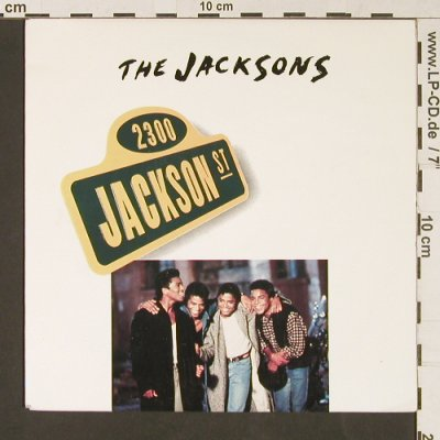 Jacksons: 2300 Jackson Street/When I look at., Epic(655206 7), D, 1989 - 7inch - S9115 - 3,00 Euro