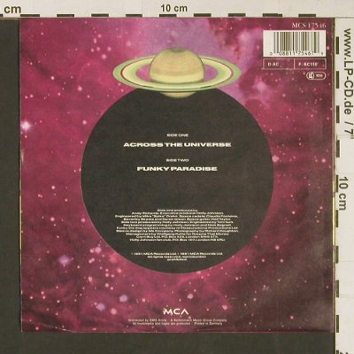 Johnson,Holly: Across the Universe, MCA(MCS 17546), D, 1991 - 7inch - S9143 - 2,50 Euro
