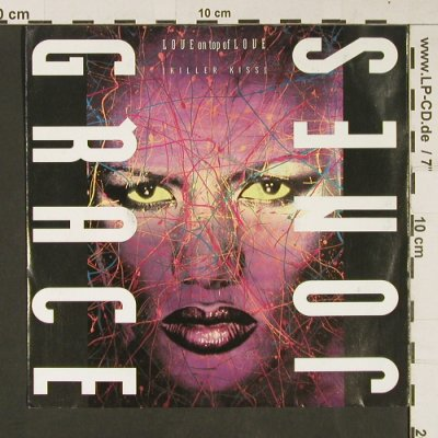 Jones,Grace: Love on top of Love / Dreams, Capitol(20 3549 7), D, 1989 - 7inch - S9198 - 3,00 Euro