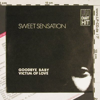 Sweet Sensation: Goodbye Baby, Bellaphon(100 07 444), D, 1987 - 7inch - S9343 - 2,00 Euro