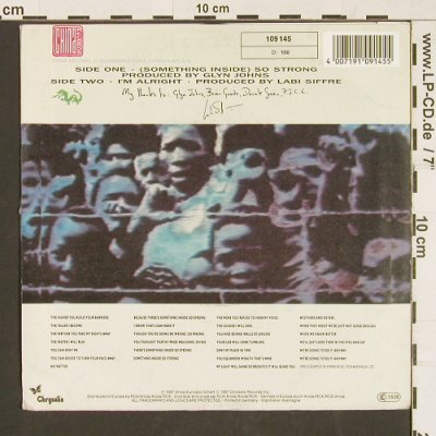 Siffre,Labi: So Strong, China(109 145), D, 1987 - 7inch - S9583 - 2,50 Euro
