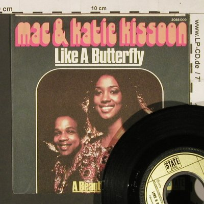 Kissoon,Mac & Katie: Like A Butterfly, State Rec.(2088 009), D, 1975 - 7inch - S9680 - 3,00 Euro