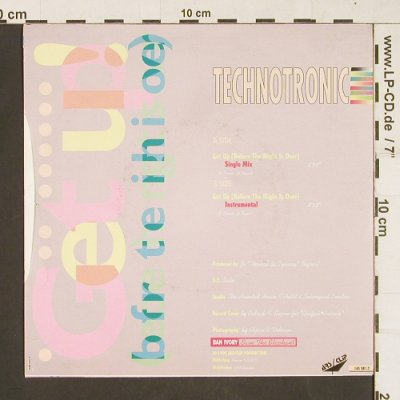 Technotronic: Get Up!, ARS / Clip(145581-7), D, 1990 - 7inch - S9836 - 3,00 Euro