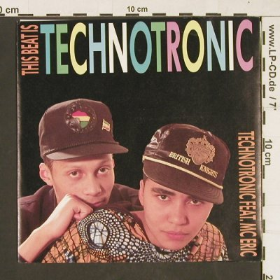 Technotronic: The Beat Is Technotronic, BCM(07420), D, 1990 - 7inch - S9837 - 3,00 Euro