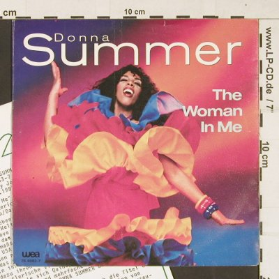 Summer,Donna: The Woman In Me, WEA(25.9983-7), NL, 1983 - 7inch - S9854 - 3,00 Euro
