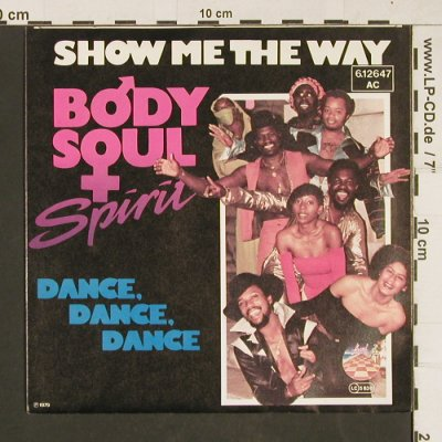Body,Soul & Spirit: Show me the way, Strand(6.12647 AC), D, 1979 - 7inch - T10 - 2,50 Euro