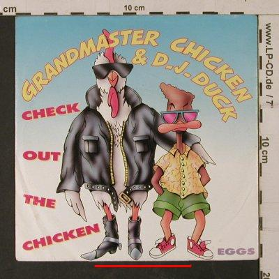 Grandmaster Chicken & D.J.Duck: Check out the Chicken / Eggs, Mercury(876 086-7), D, m-/vg+, 1989 - 7inch - T1169 - 2,00 Euro