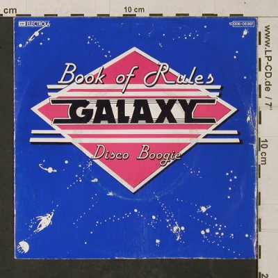 Galaxy: Book of Rules / Disco Boogie, EMI(006-06 997), D, 1975 - 7inch - T1373 - 2,50 Euro