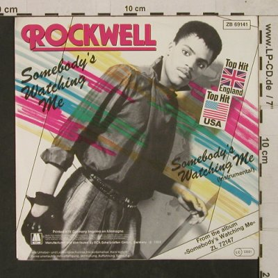 Rockwell: Somebody's Watching Me*2, Motown(ZB 69141), D, 1983 - 7inch - T1497 - 2,50 Euro