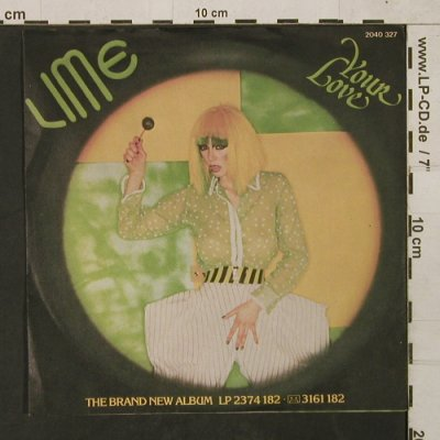 Lime: You're my Magician Part 1+2, Polydor(2040 327), D, 1981 - 7inch - T1498 - 2,50 Euro