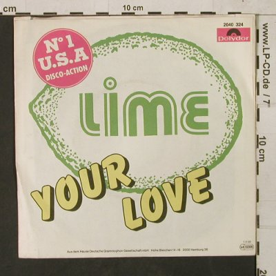 Lime: Your Love *2, Polydor(2040 324), D, 1981 - 7inch - T1499 - 2,50 Euro