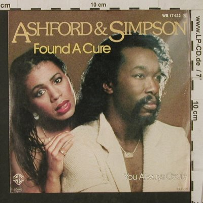 Ashford & Simpson: Found a Cure/You alwaysCould,vg+/m-, WB(WB 17 422), D, 1979 - 7inch - T1565 - 3,00 Euro