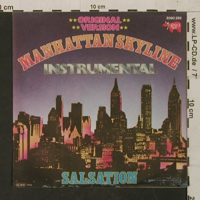 Instrumental: Manhattan Skyline/Salsation, RSO(2090 292), D, 1977 - 7inch - T1581 - 4,00 Euro