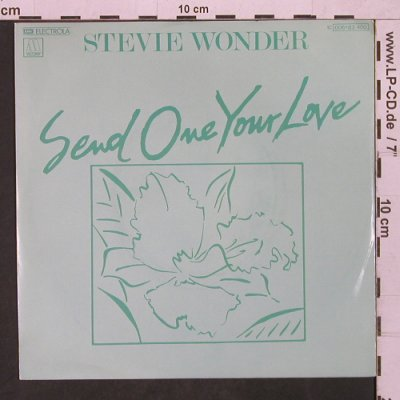 Wonder,Stevie: Send One Your Love (voc/instr.), Motown(006-63 400), D, 1979 - 7inch - T1598 - 3,00 Euro