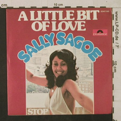 Sagoe,Sally: A Little bit of Love/Stop, Polydor(2040 146), D, 1975 - 7inch - T1840 - 9,00 Euro