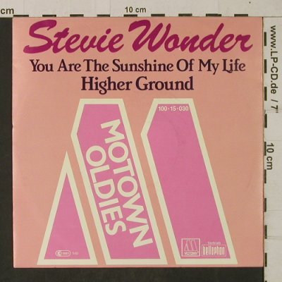 Wonder,Stevie: You are the Sunshine of my Life, Motown(100 15 030), D, 1982 - 7inch - T1963 - 3,00 Euro