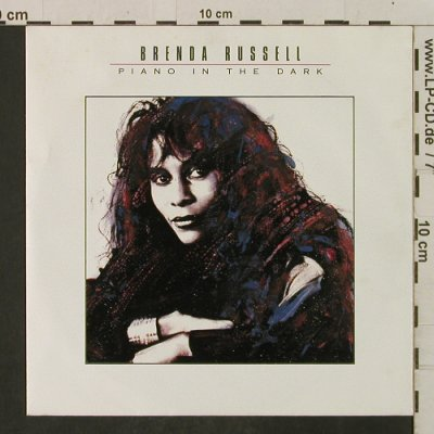 Russell,Brenda: Piano In The Dark/In The ThickOf It, AM(390 291-7), D, 1988 - 7inch - T2275 - 1,50 Euro