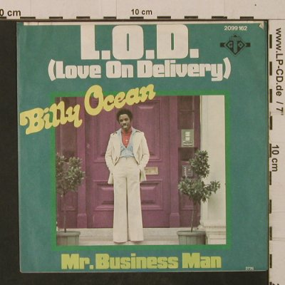 Ocean,Billy: LOD(LoveOnDelivery)/Mr.BusinessMan, GTO(2099 162), D, 1976 - 7inch - T2502 - 3,00 Euro