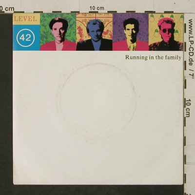 Level 42: Running In the Family / Dream Crazy, Polydor(885 518-7), D, 1987 - 7inch - T2531 - 2,00 Euro