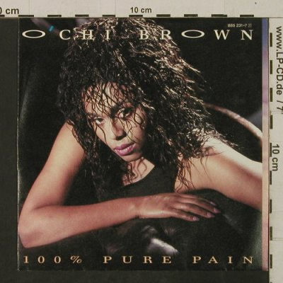 Brown,O'chi: 100% Pure Pain/I JustWantToBeLoved, Magnet(885 231-7), D, m-/vg+, 1986 - 7inch - T2534 - 2,00 Euro