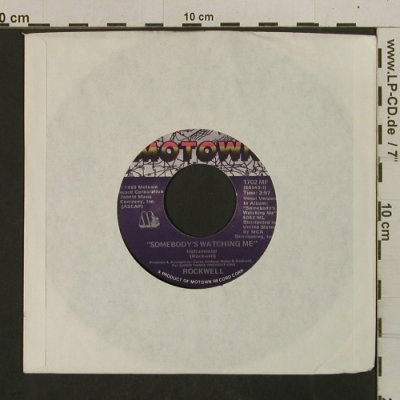 Rockwell: Somebody's Watching Me*2, LC, Motown(1702 MF), US, 1983 - 7inch - T2549 - 2,00 Euro