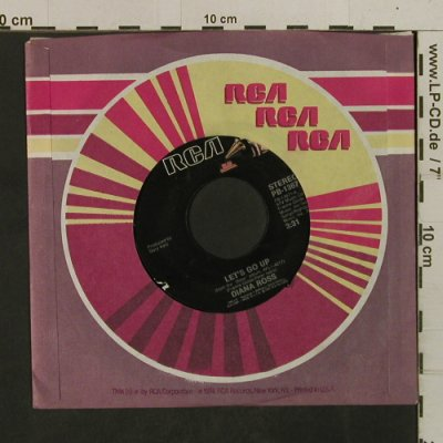 Ross,Diana: Let's Go Up / Girls, FLC, RCA(PB-13671), US, 1983 - 7inch - T2550 - 4,00 Euro