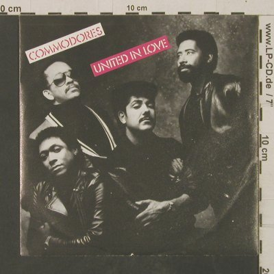 Commodores: United In Love / Talk To Me, Polydor(885 760-7), D, 1986 - 7inch - T2557 - 2,50 Euro