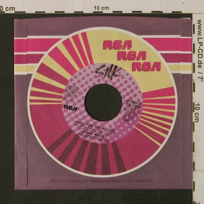 Ross,Diana: So Close / Fool For Your Love, FLC, Silk/RCA(PB-13424), US, 1982 - 7inch - T2566 - 4,00 Euro