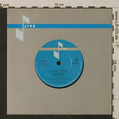 Whodini: Magic'sWand/It'sAllInMr.Magic'sWand, Jive(JIVE 28), UK, FLC, 1982 - 7inch - T2568 - 2,50 Euro