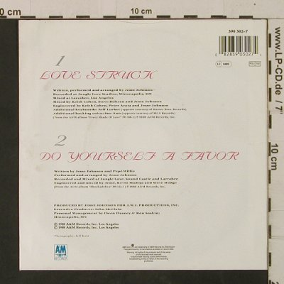 Johnson,Jesse: Love Struck / Do Yourself A Favor, AM(390 302-7), D, 1988 - 7inch - T2570 - 2,00 Euro