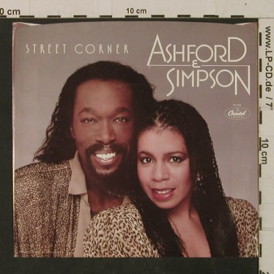 Ashford & Simpson: Street Corner / Make It Work Again, Capitol(B-5109), US, 1982 - 7inch - T2574 - 2,50 Euro