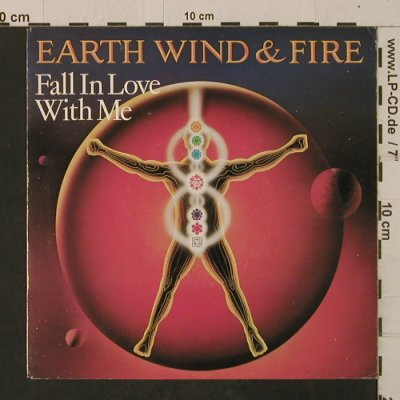 Earth Wind & Fire: Fall In Love With Me / Lady Sun, CBS(A-2927), NL, 1982 - 7inch - T2578 - 2,50 Euro