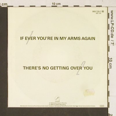 Bryson,Peabo: If Ever You're In My Arms Again, Elektra(969728-7), D, 1984 - 7inch - T265 - 2,00 Euro