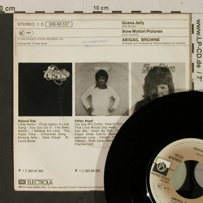 Browne,Abigail: Guava Jelly / Slow Motion Pictures, Private Stock/MusterStoc(006-98 537), D, 1976 - 7inch - T2665 - 2,50 Euro