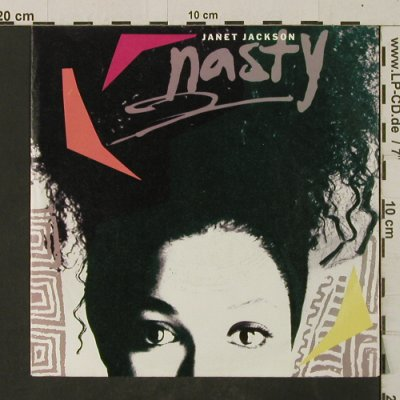 Jackson,Janet: Nasty / You'll Never Find, AM(390098-7), D, 1986 - 7inch - T2674 - 2,00 Euro