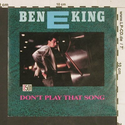 King,E. Ben: Don't Play That Song (Levis501), WEA(789229-7), D, 1987 - 7inch - T272 - 2,50 Euro