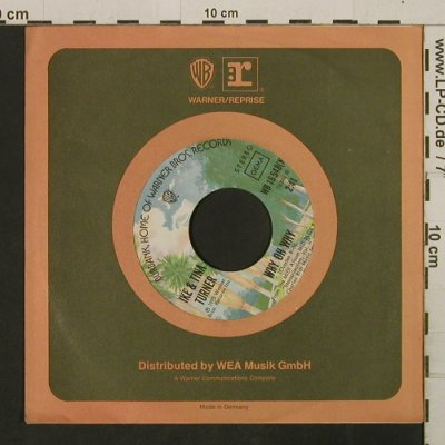 Turner,Ike & Tina: Tell Her I'm Not Home / Why Oh Why, Warner(WB 16548(N)), D, FLC, 1975 - 7inch - T2734 - 4,00 Euro