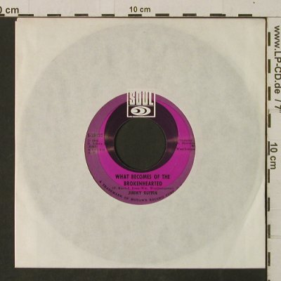 Ruffin,Jimmy: What Becomes Of The Brokenhearted, Soul, LC(S-35022), US, 1968 - 7inch - T2921 - 4,00 Euro