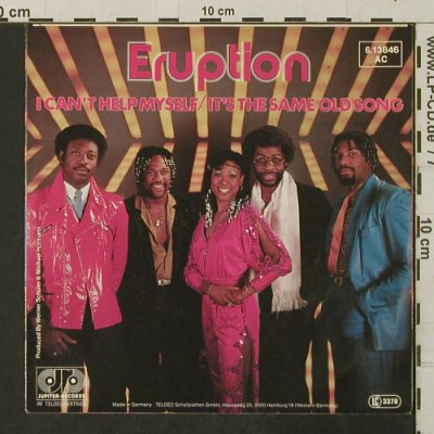 Eruption: I Can't Help Myself, Jupiter(6.13846 AC), D,  - 7inch - T3219 - 2,50 Euro