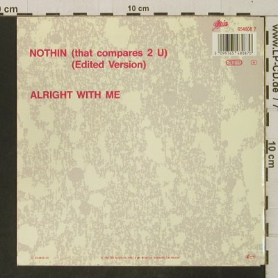 Jacksons: Nothin / Alright With Me, Epic(654808 7), NL, 1989 - 7inch - T3281 - 2,50 Euro