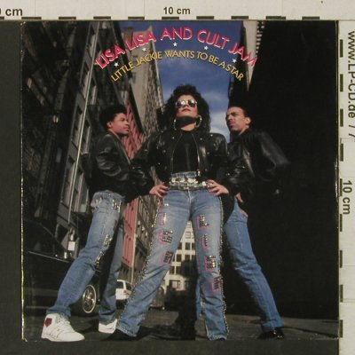 Lisa,Lisa And Cult Jam: Little Jackie Wants To Be A Star, CBS(654781 7), NL, 1989 - 7inch - T3282 - 3,00 Euro