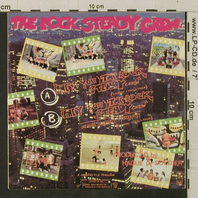 Rock Steady Crew: (Hey You)The Rock Steady Crew*2, Virgin(105 887-100), D, 1983 - 7inch - T3414 - 2,50 Euro