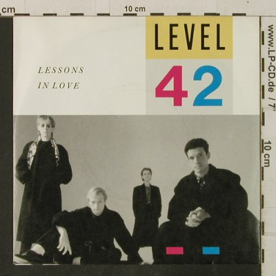 Level 42: Lessons In Love / Hot Water, Polydor(883 956-7), D, 1986 - 7inch - T3421 - 2,50 Euro