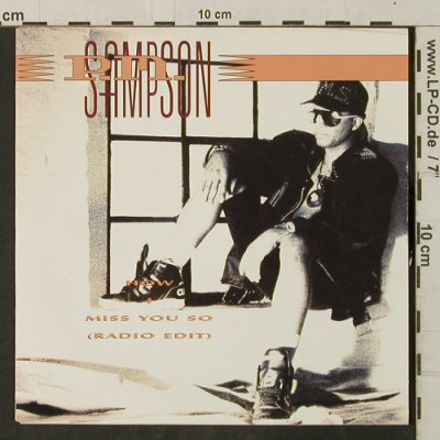 Sampson,P.M.: How I Miss You So*2, CBS(656403 7), D, 1990 - 7inch - T3426 - 2,00 Euro